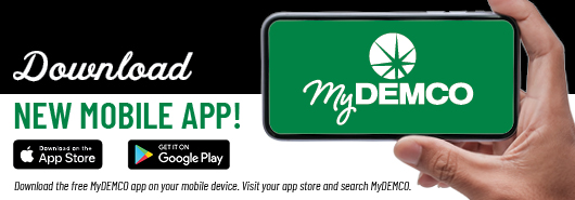 Image that shows the Demco App